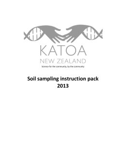 2013 soil sampling instructions.