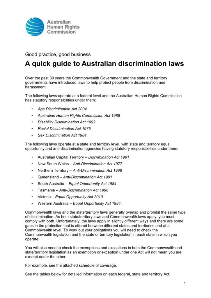 Exempt from sex discrimination act