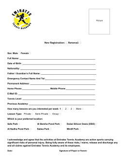 New Registration form 2014-2015 Satwa and Al Nahda