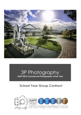 School Photography Booking Form - Professional Photographers