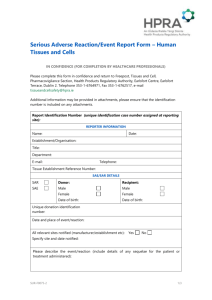 Report Form - The Health Products Regulatory Authority