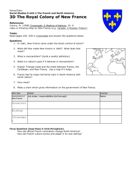 SS9 3D Royal Colony / Microsoft Word Document
