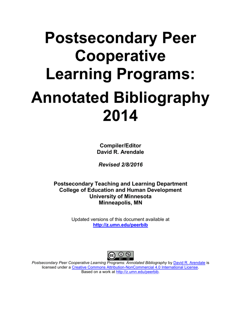 annotated bibliography uclan