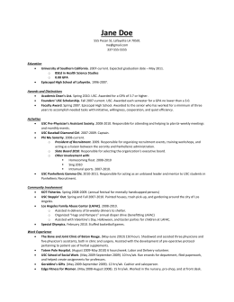Bad Resume Without Graph - Pre