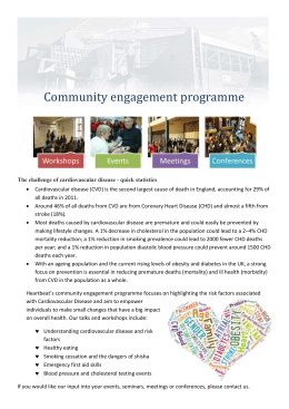 Community engagement programme The challenge of