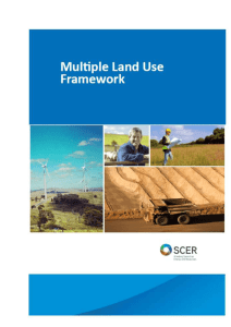 Multiple Land Use Framework