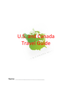 Print Out - United States and Canada