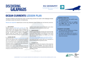 2B1 Ocean Currents and Upwelling MSWord Lesson Plan KS2