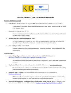 safety resources sheet