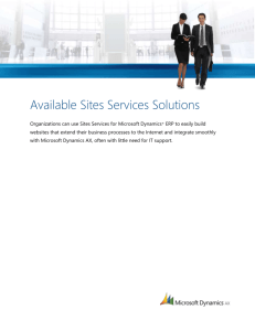 Sites Services Solutions