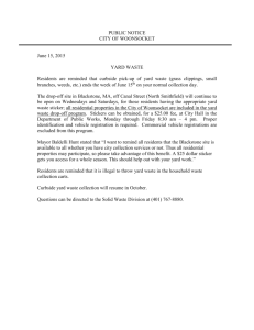 PRESS RELEASE - City of Woonsocket