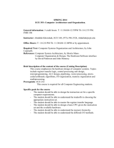 ABET Course Syllabus Template