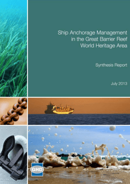gbr-anchorage-management - Department of the Environment