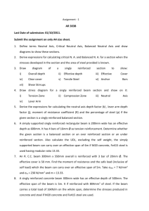 Assignment - 1 AR 303B Last Date of submission: 01/10/2011