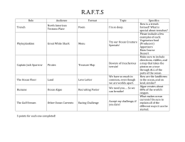 RAFTS Oceanography