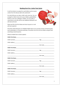 Booking-form-for-a-Letter-from-Santa