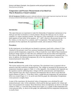 Daltons Law Of Partial Pressure Worksheet