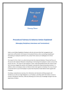 Procedural Fairness & Adverse Action Explained 3
