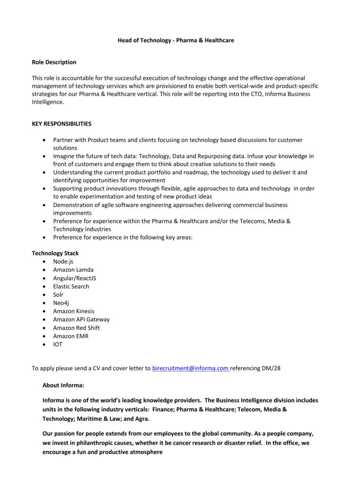 Job Description * Fusion Trainer