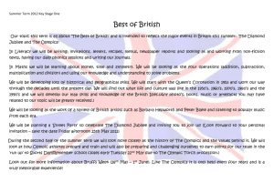 Best of British - Freshford Primary School