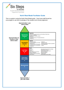 North West Model Facilitator Guide
