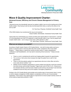 Wave 6 Quality Improvement Charter