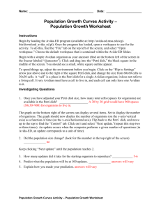 Population Growth Worksheet Answers (doc)