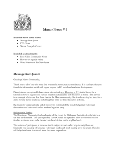 Manor News #9 - 10/18/13 - Ross Valley School District
