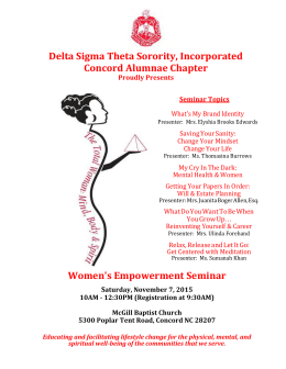 File - Concord Alumnae Chapter of Delta Sigma Theta