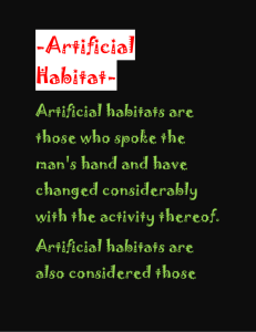 Artificial Habitat