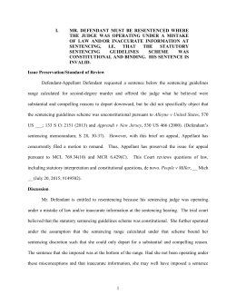 Sample Brief 1 - Michigan State Appellate Defender Office