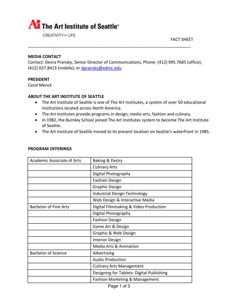 Fact Sheet Media Contact Contact Devra Pransky Senior