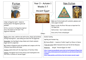 Click here to view our Ancient Egypt topic map.