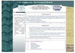Civil Engineering: The Evergreen Branch