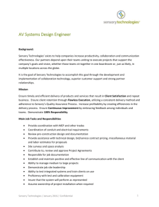 AV Systems Design Engineer (Chicago)