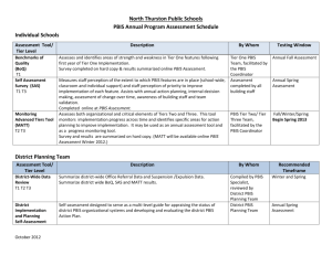 PBIS-Program-Assessment-schedule-2012