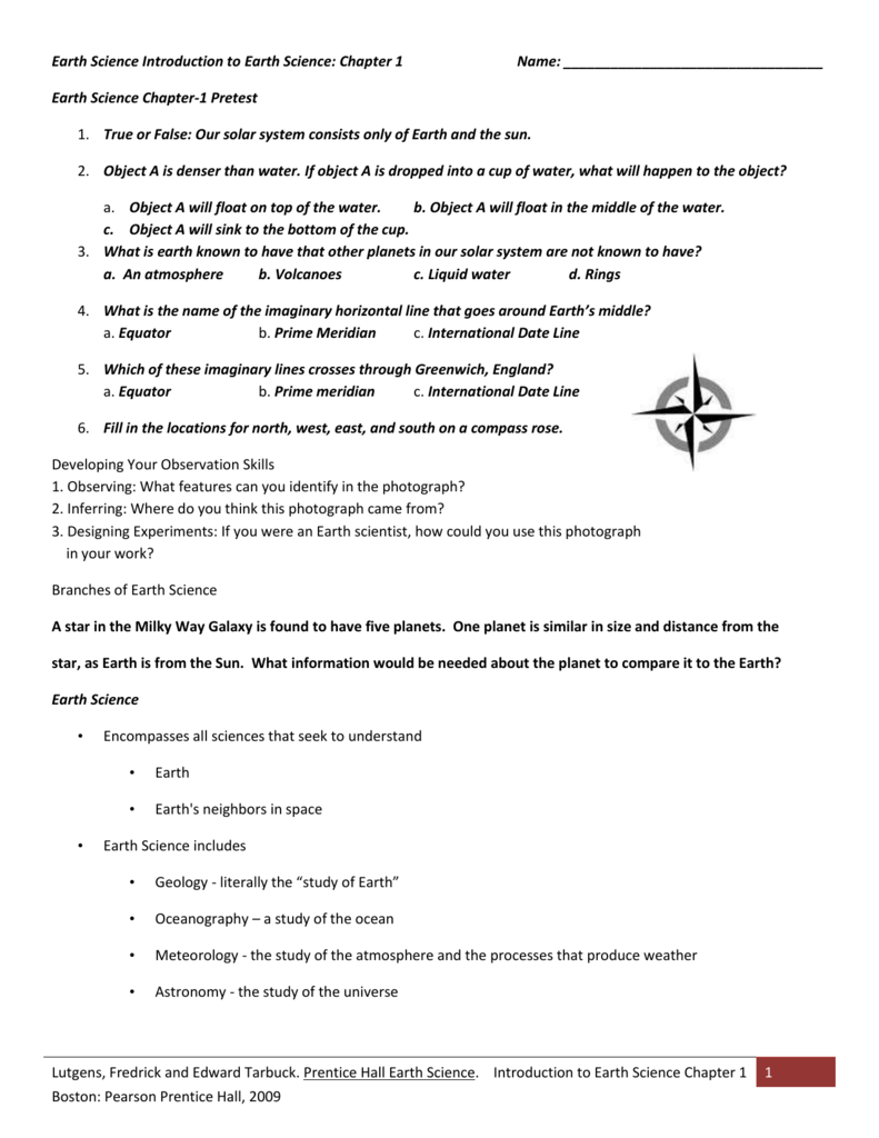 Worksheets Prentice Hall Physical Science Worksheets workbooks prentice hall physical science worksheets free earth introduction to chapter 1 name worksheets