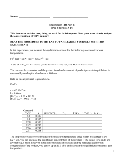 Lab Report for Experiment 12H Part C
