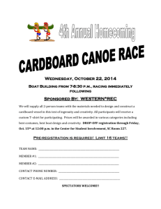 Wednesday, October 22, 2014 Boat Building from 7