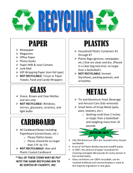Recyling-Poster
