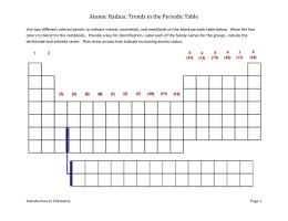 Atomic radius explorationc atomic radius trends in the periodic table urtaz Choice Image