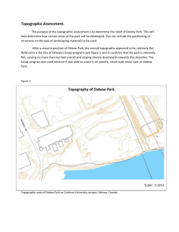 Topographic Map of Oxbow Park