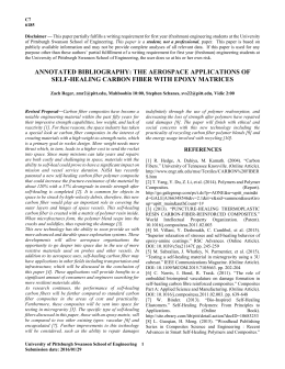 This paper fits well into the composite fiber materials topic area
