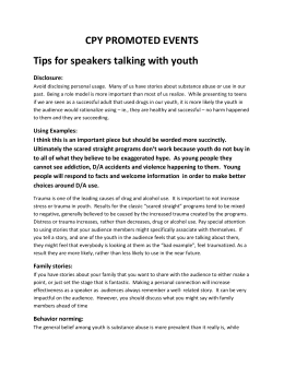 Tips-for-speakers - Coalition for Placer Youth