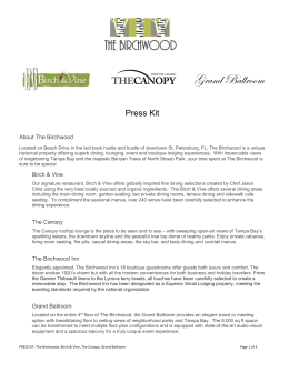 The Birchwood Press Kit 042114