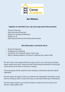 Our Mission - Carew Academy