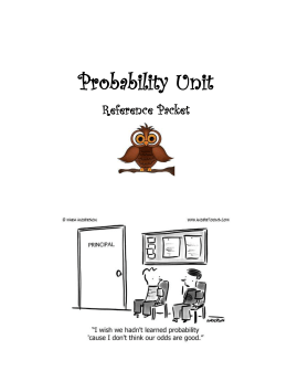 Probability Reference packet
