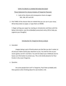 Literary Analysis Essay - Fort Thomas Independent Schools