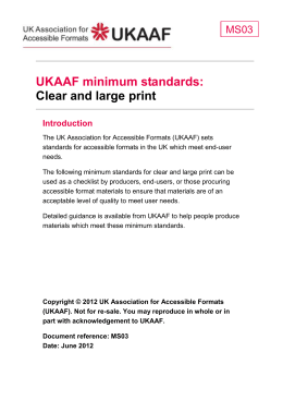 MS03 UKAAF Minimum standards Clear and large print – DOCX