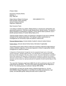 Insurance Authorization Letter